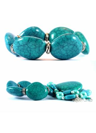Test Brand 5 Ocean Jewelry Set (Necklace & Bracelet)